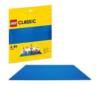 LEGO Plaque de base bleu - 10714