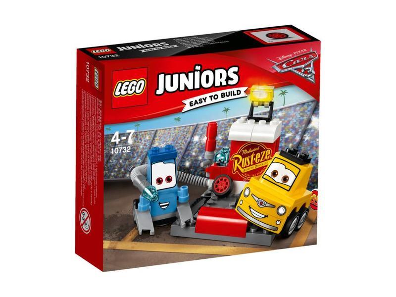 LEGO DUPLO Guido en Luige pitstop -10732