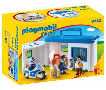Playmobil Emporter le poste de police