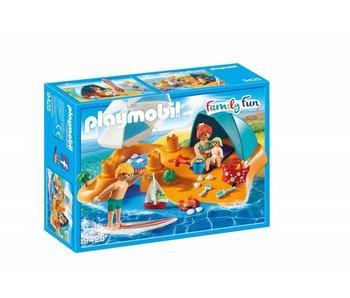 Playmobil Famille sur la plage