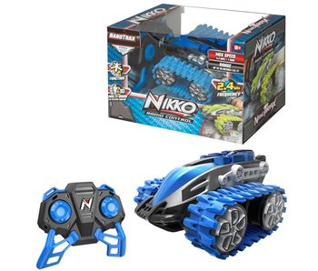 Nikko Rc Nanotrax Blaze Blue