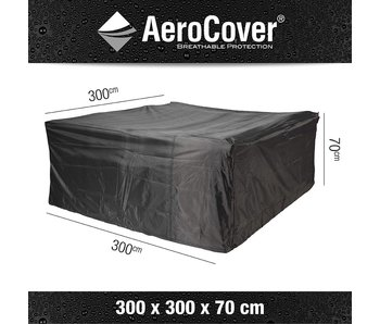 Loungset cover 300X300X70 cm