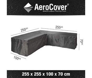 L-vorm lounge cover 255X255X100X70 cm