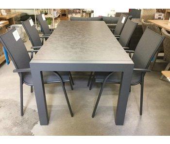 Table de jardin Lago 220x90xh75cm