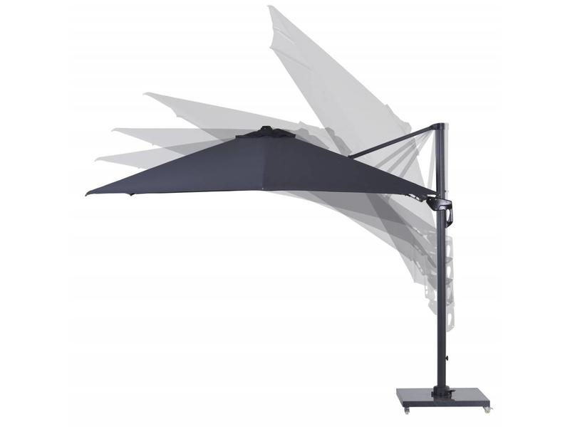 Hawaii Parasol II  300x300 cm - donker grijs