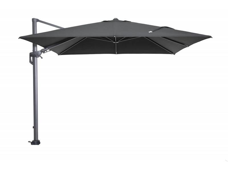 Hawaii parasol 250x250 cm - donker grijs