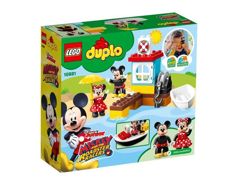 LEGO DUPLO Le bateau de Mickey - 10881