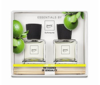 Ipuro Essentials Giftset 2x50ml lime lights