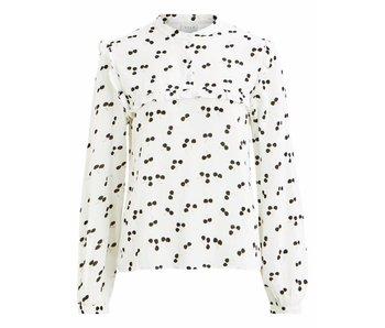 VILA Vidanita blouse | wit | extra large