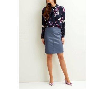 VILA Vipen new skirt - blue - medium