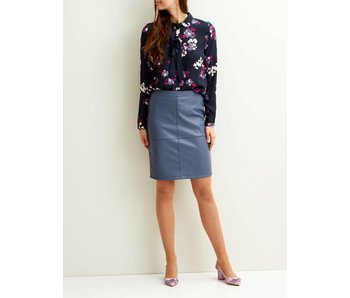 VILA Vipen new skirt - blue - XL