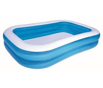 Opblaasbaar zwembad  262cm x 175 cm x 51 cm