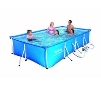 Deluxe Splash frame pool 400x211x81cm
