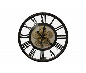 Hamilton Living Horloge noir en métal