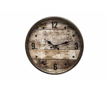 Hamilton Living Horloge Chesterford - cadre côtelé