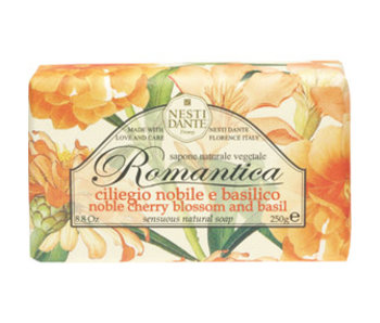 Nesti Dante Zeep Romantica noble cherry blossom and basil 250 gr