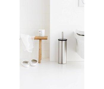 BRABANTIA Toiletborstel met houder mat staal