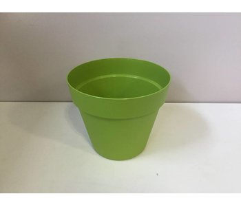 Bloempot lime green 26cm