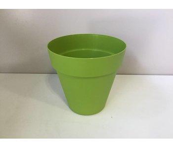 Bloempot lime green 29cm