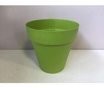 Bloempot lime green 34cm