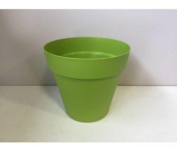 Bloempot lime green 39cm