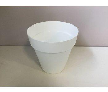 Bloempot White 28cm