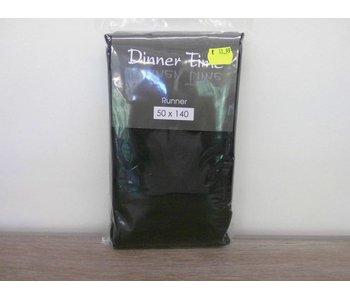 Nappe Linoso 50x140 cm noir
