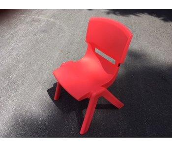 Chaise enfant - rouge