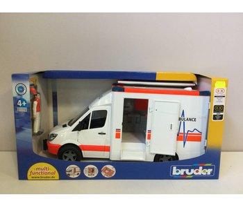 Bruder Mercedes Sprinter Ambulance met bestuurder