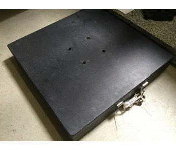 Base de parasol 60 kg, 55x55cm, granit