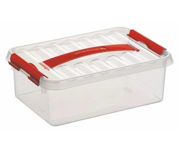 Qline Boîte de rangement  4L Transparent