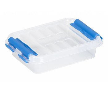 Q-line Box 0.2L transparent-bleu