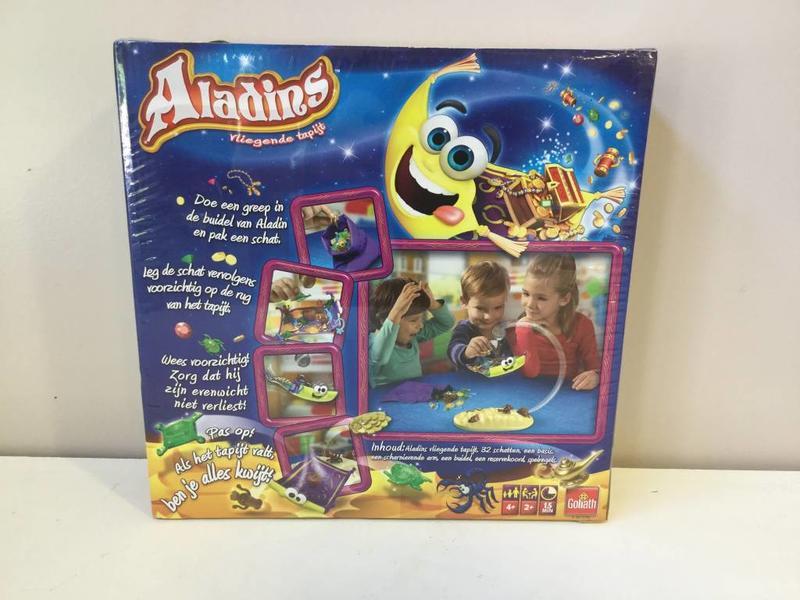 Aladins vliegend tapijt NL