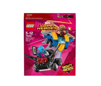LEGO Mighty Micros Star-Lord vs Nebula 76090