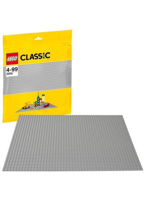 10701 Club Jouet Base Lego Grise De Classic Plaque yNnO0m8vw