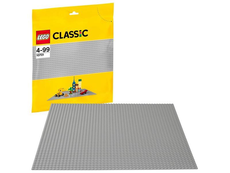 LEGO Plaque de base grise 10701