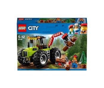 LEGO Tracteur forestier 60181