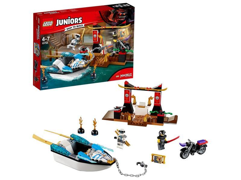 LEGO Zane's Ninja Boat Poursuit 10755