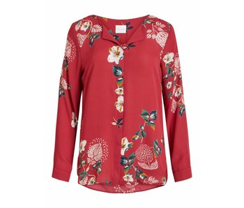 VILA Vilucy blouse | Bloemenprint | Small