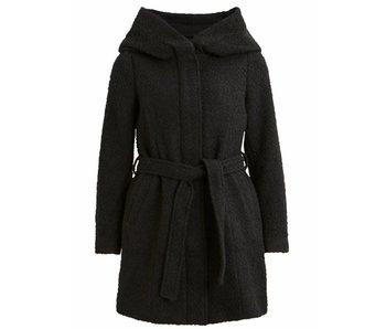 VILA Copy of Vicama new wool coat - black - large