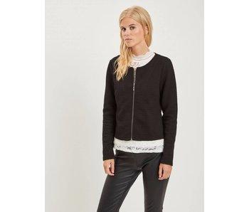 VILA Vinaja new short jacket - black - large