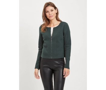 VILA Vinaja new short jacket - green - large