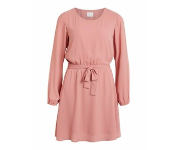 VILA Vilucy L/S dress - rose - 40