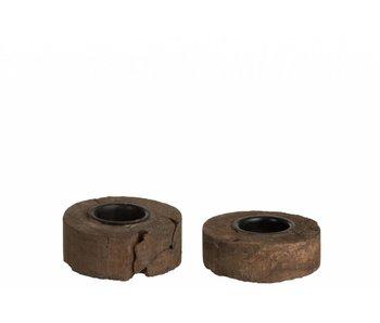 J-Line TLH rond recyc hout 1 stuk