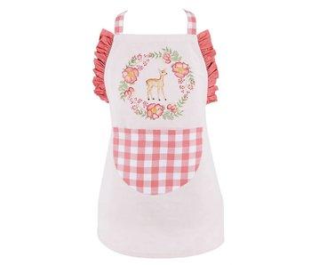 Clayre & Eef Tablier de cuisine pour enfant renne 48x56
