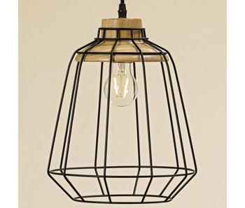 Plafondlamp | zwart | 35cm