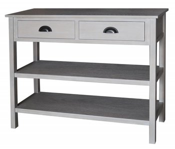 Hamilton Living Wandtafel Gustave met 2 lades | soft melody