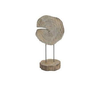 Hamilton Living Décoration à pied Surya Timber Twist