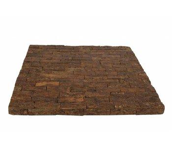 Hamilton Living Decorative Square Plate Carillo