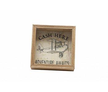 "Hamilton Living Spaarpot  ""Cash Here"""